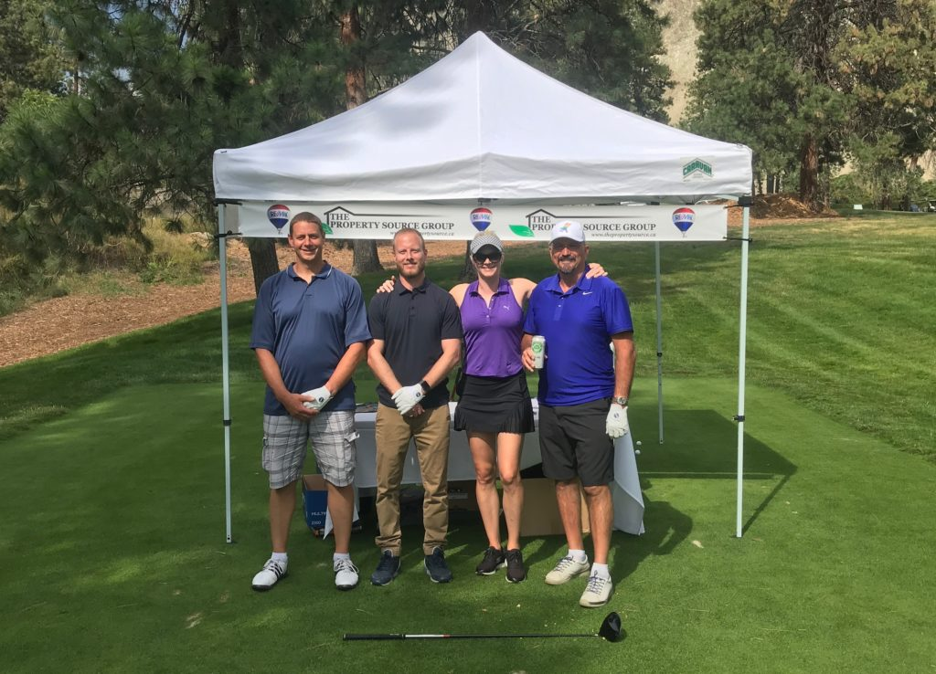 10th Annual Charity Golf Tournament for the YMCA Okanagan - The Property Source Group