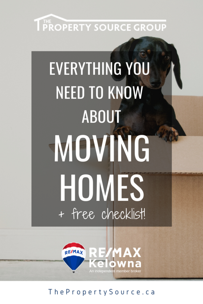 Everything You Need to Know About Moving Homes - The Property Source Group